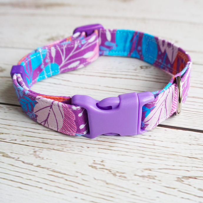 Purple forest collar