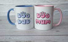 Load image into Gallery viewer, Dog Dad Blue Mug