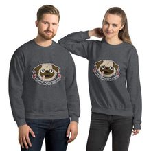 Load image into Gallery viewer, I Pugging Love You Unisex Sweatshirt