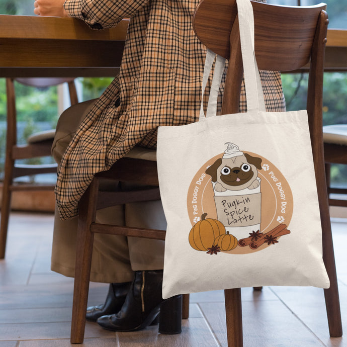 Pugkin Spice Latte bag