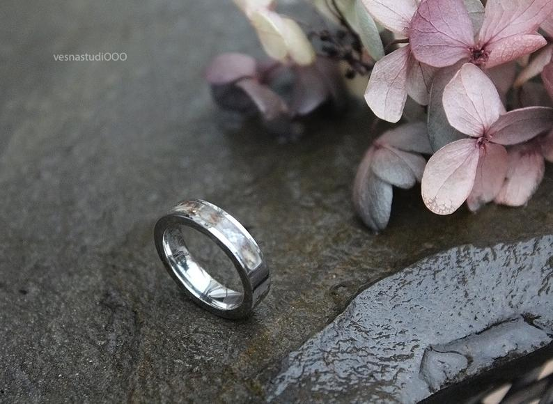 Nature Unique Wedding Band