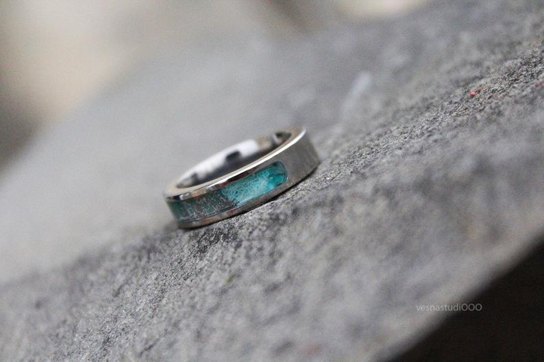 Unique Stainless Steel Ring for Her