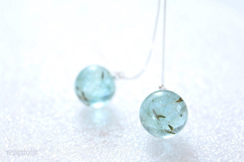 Dandelion Turquoise Earrings