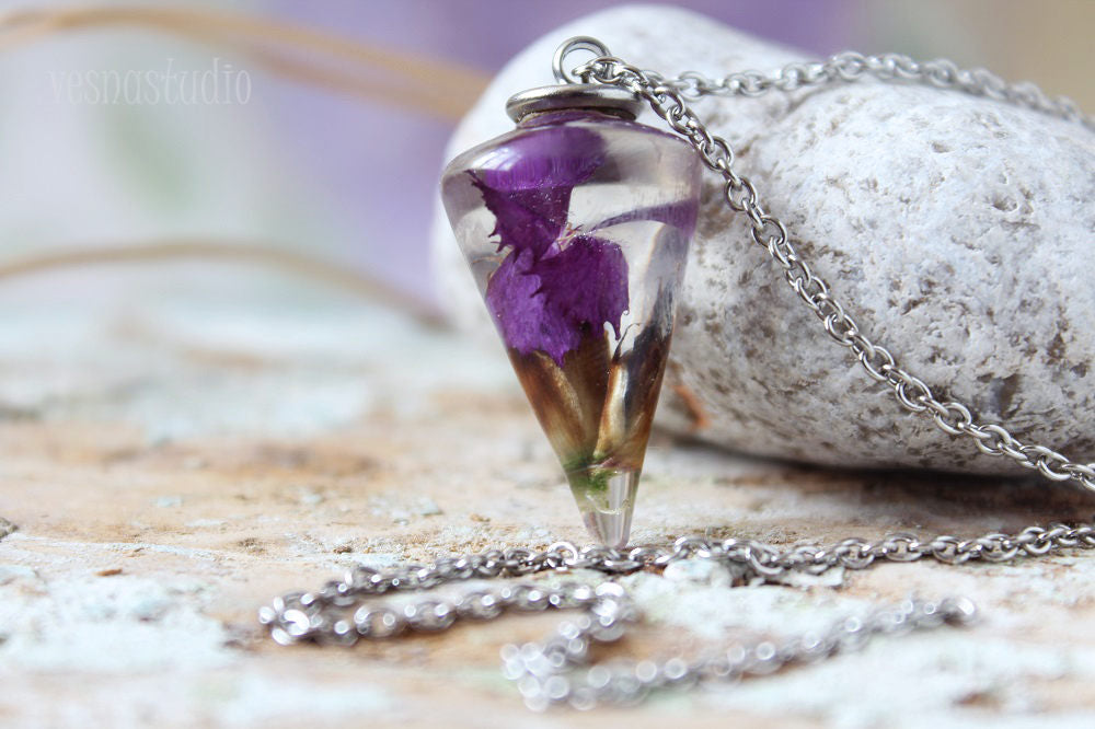 Purple Pendulum Magical Necklace