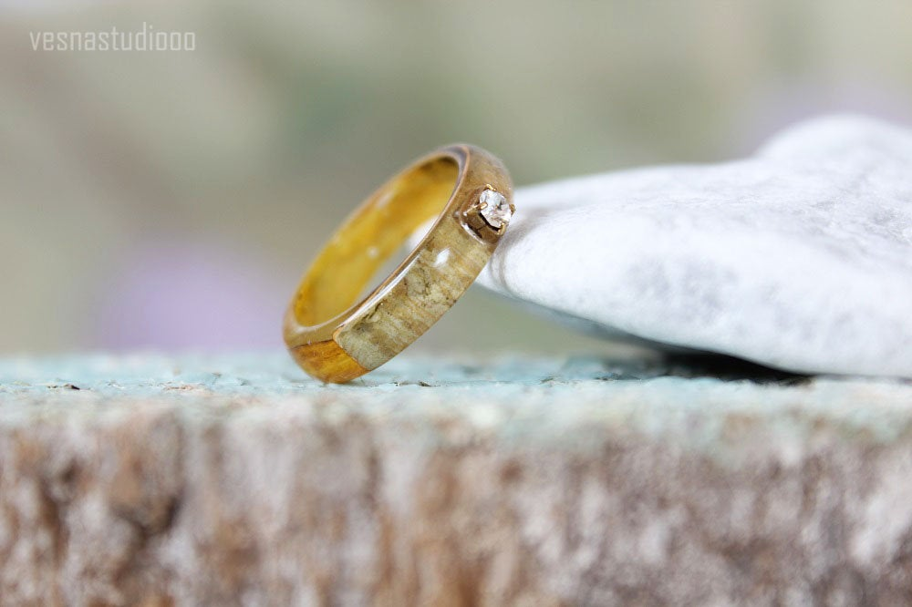 Sunflower Resin Ring
