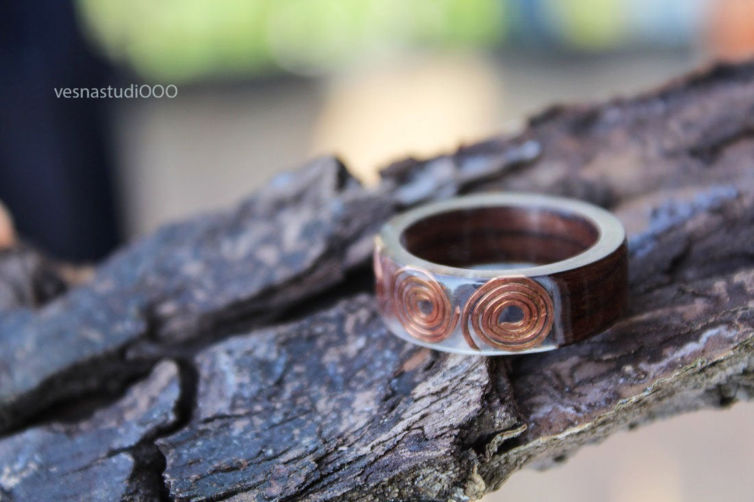 Minimalist Copper Ring
