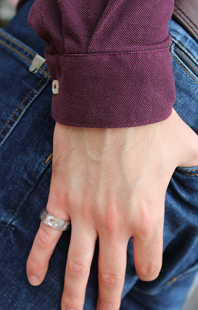 Minimalist Fashion Men's Ring
