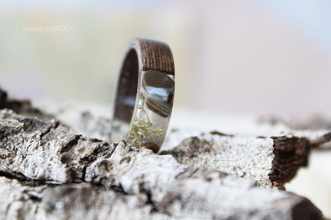 Bentwood Beach Pebbles Ring