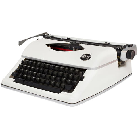 We R Typecast Typewriter - White