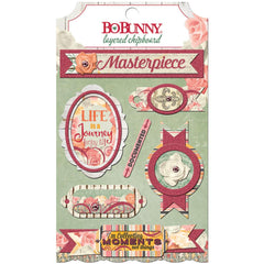 Aryia's Garden Adhesive Layered Chipboard