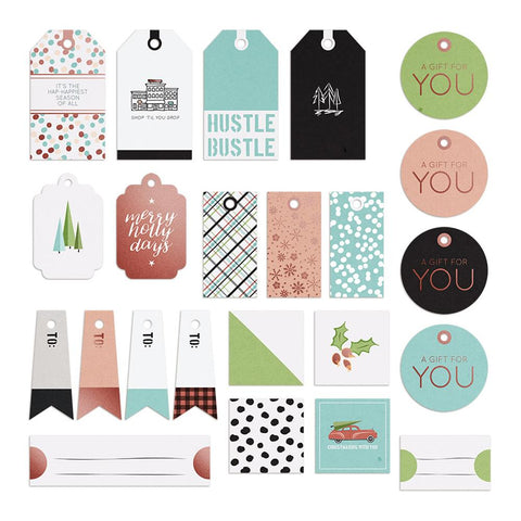 Holiday Hustle Tags And Labels - Phrases And Expressions