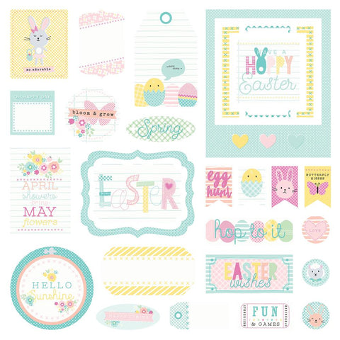 Easter Blessings Cardstock Die-Cuts