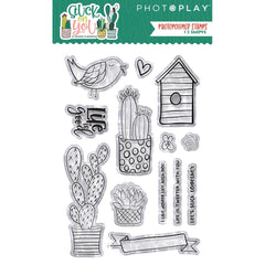 Stuck On You - PhotoPlay Photopolymer Stamp