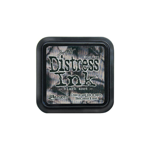 Tim Holtz - Distress Ink Pad - Black Soot