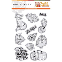 Mad 4 Plaid Fall - PhotoPlay - Photopolymer Stamp