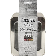 Tim Holtz Distress Oxide Spray Storage Tin - Holds 12