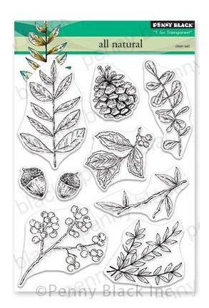 "Penny Black Clear Stamps - All Natural 5""X6.5"""