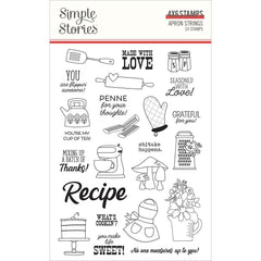 Apron Strings - Simple Stories - Photopolymer Clear Stamps