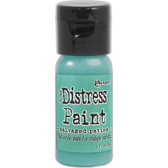 Tim Holtz - Distress Paint Flip Top 1oz - Salvaged Patina