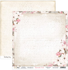 "Romantic Soul - ScrapBoys - 12""X12"" Patterned Paper - 01"