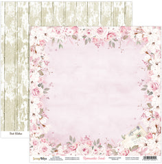"Romantic Soul - ScrapBoys - 12""X12"" Patterned Paper - 02"