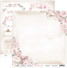 "Romantic Soul - ScrapBoys - 12""X12"" Patterned Paper - 03"
