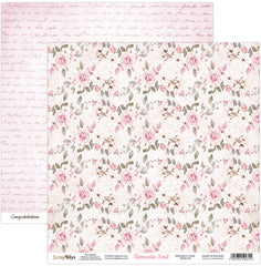 "Romantic Soul - ScrapBoys - 12""X12"" Patterned Paper - 04"