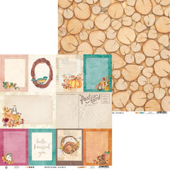 "The Four Seasons-Autumn - P13 - Double-Sided Cardstock 12""X12"" - #05"