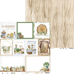 "Auburn Lane Double-Sided Cardstock 12""X12"" - Pebbles - #05"