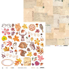 "The Four Seasons-Autumn - P13 - Double-Sided Cardstock 12""X12"" - #07"