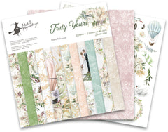"Truly Yours - P13 - Double-Sided Paper Pad 12""X12"" 12/Pkg"