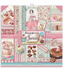 "Sweety - Stamperia - (12""X12"") Paper Pack"