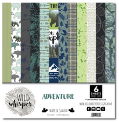 ADVENTURE - WILD WHISPER - 12X12 PAPER PACK