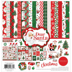 "Dear Santa - Carta Bella - Collection Kit 12""X12"""