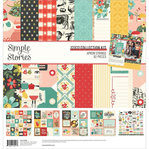 "Apron Strings - Simple Stories - Collection Kit 12""X12"""