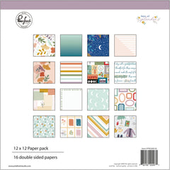 "Days of Splendor - PinkFresh - Double-Sided Paper Pack 12""X12"" 16/Pkg"