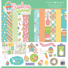 "Baskets Of Bunnies - PhotoPlay - Collection Pack 12""X12"""