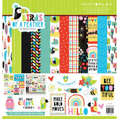 "Birds Of A Feather - PhotoPlay - Collection Pack 12""X12"""