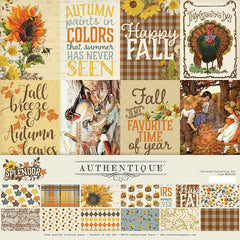 "Splendor - Authentique - Collection Kit 12""X12"""