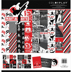"Martial Arts - Photo Play - Collection Pack 12""X12"""