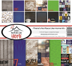 "There's No Place Like Home - Reminisce - 12""X12"" Collection Kit"