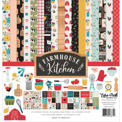 "Farmhouse Kitchen - Echo Park - Collection Kit 12""X12"""