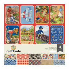 "Cultivate - Authentique - Collection Kit 12""X12"""