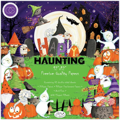 "Happy Haunting - Craft Consortium -  12""X12"" Paper Pad"
