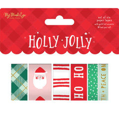 Holly Jolly - My Mind's Eye - Washi 6/Pkg - 10' Per Roll