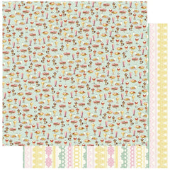 "Confection - Authentique - Double-Sided Cardstock 12""X12"" - #1 Shakes, Sundaes & Banana Splits"
