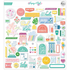 Keeping It Real - PinkFresh - Cardstock Die-Cuts (3321)