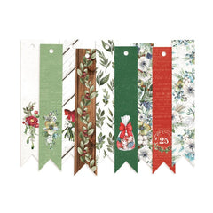 The Four Seasons - Winter  - P13 - Double-Sided Cardstock Tags 9/Pkg #03