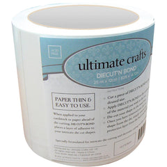 "Ultimate Crafts Diecut'N Bond Double-Sided Tape 4.72""X82' - Clear"