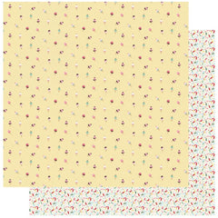 "Confection - Authentique - Double-Sided Cardstock 12""X12"" - #3 Ice Cream Cones"